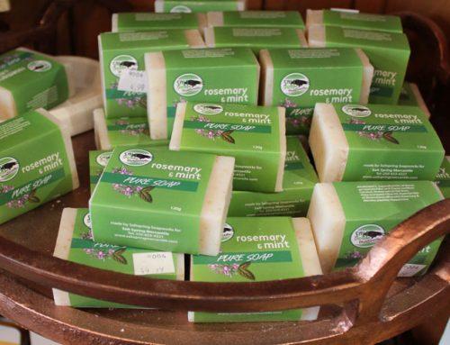 Salt Spring Mercantile – Mint & Rosemary Soap
